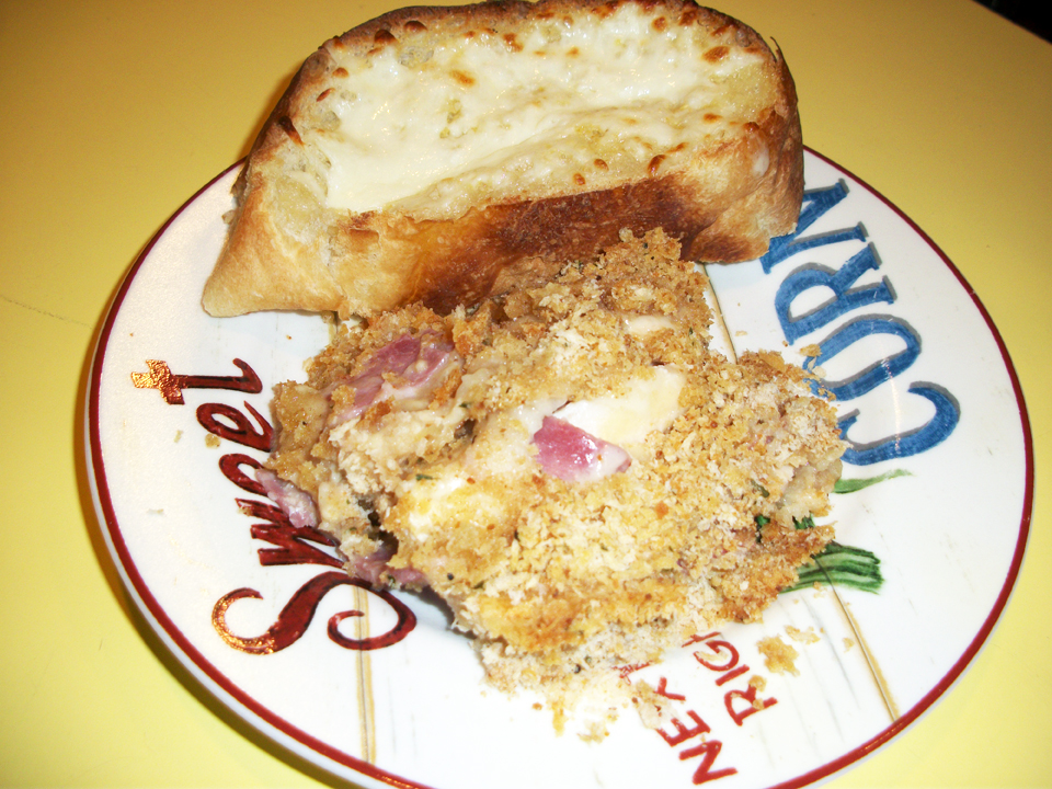 Lark's Recipe of the Week: Chicken Cordon Bleu Casserole