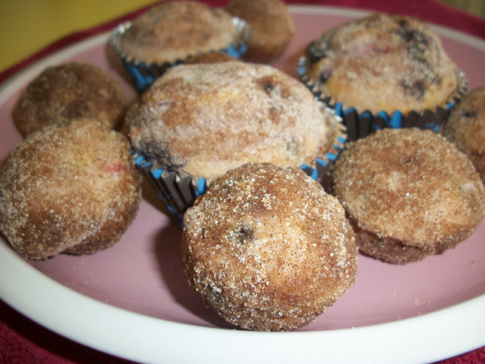 Lark's Recipe of the Week: Blueberry Morning Muffins