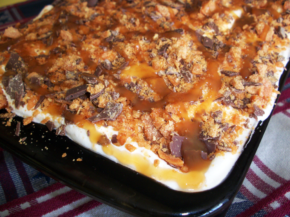 Lark's Recipe of the Week: Butterfinger Bomb