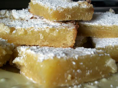 Lark's Recipe of the Week: Lemon Bars