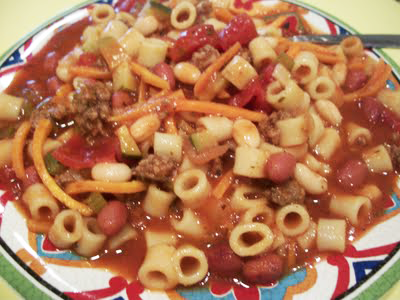 Lark's Recipe of the Week: Pasta de Fagoli