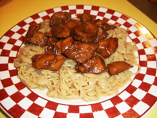 Lark's Recipe of the Week: Yoshida Chicken and Top Ramen Noodles
