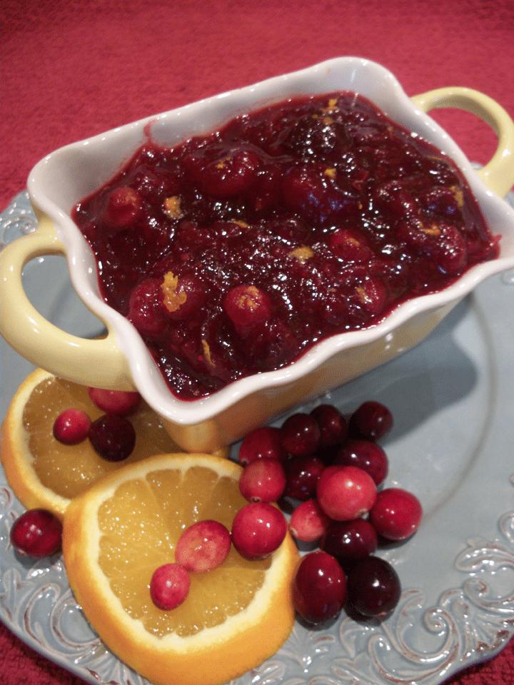 Lark's Recipe of the Week: Homemade Orange Cranberry Sauce
