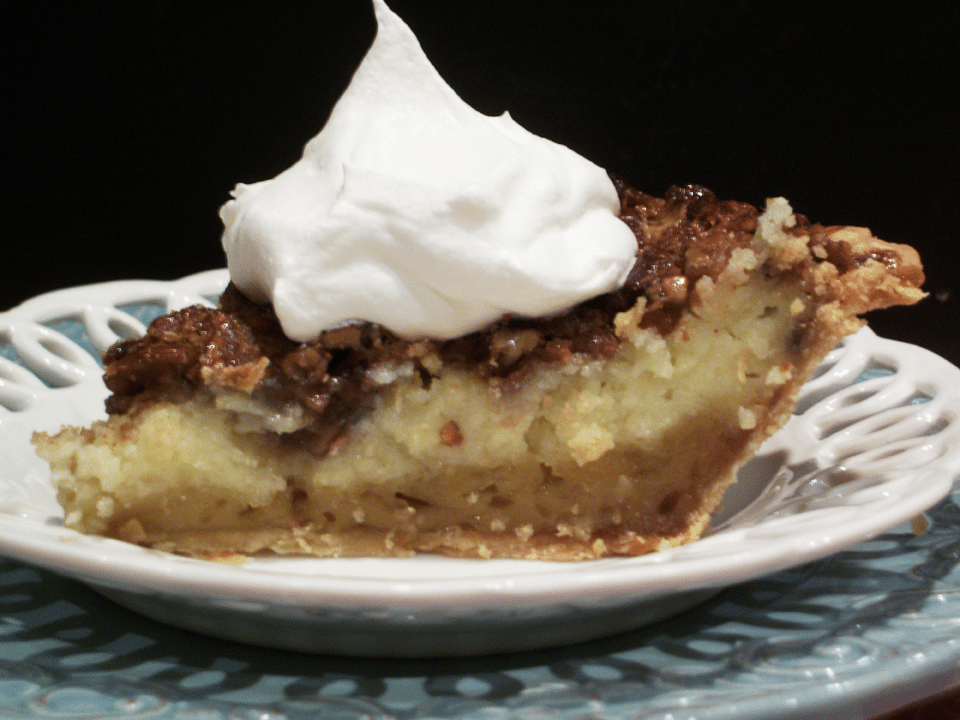 Lark's Recipe of the Week: Lark's Prize winning Pecan Cream Cheese Custard Pie