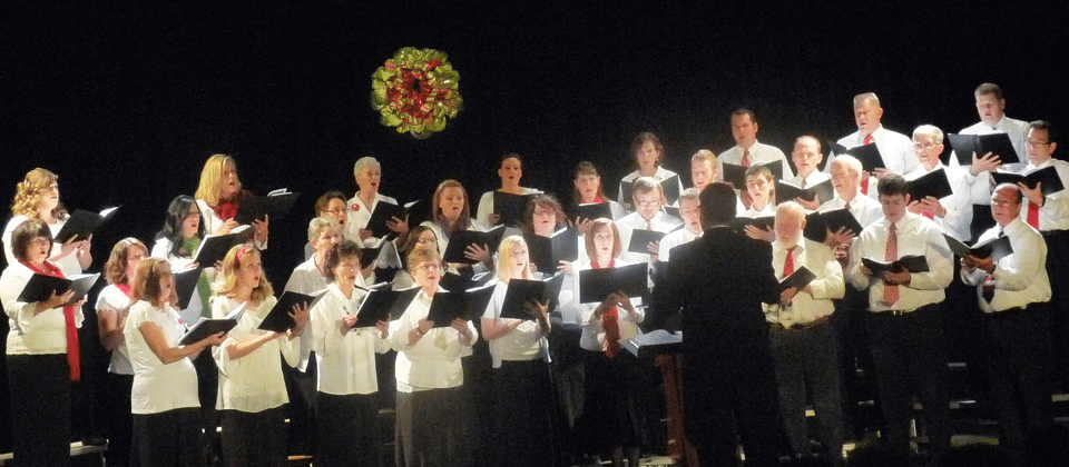 Lincoln County Community Choir performance