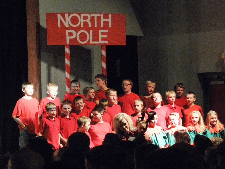 Panaca Elementary Christmas Program