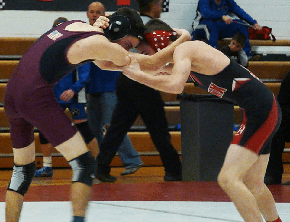 Wrestlers on their way to state
