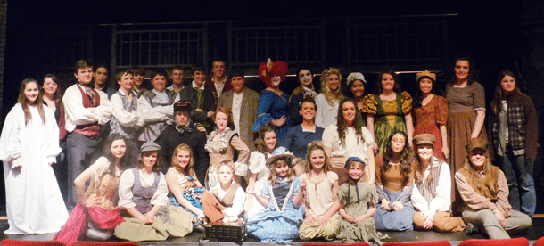 LCHS theatre group takes on 'Les Mis'