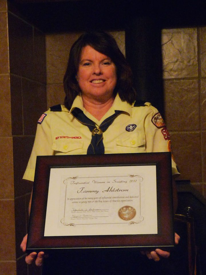 Local resident one of the most influential in scouting