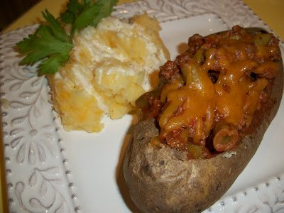 Lark's Recipe: Shepherd's Pie Stuffing Spud