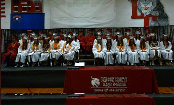 Lincoln County High School Graduation 2012