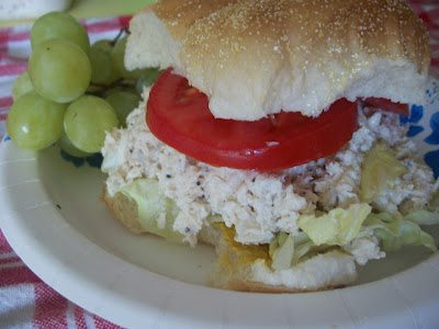Lark's Recipe: Chicken Caesar Salad Sandwiches