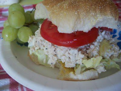 Lark's Recipe: Chicken Caesar Salad Sandwiches
