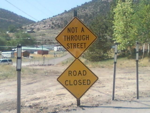 Concerns on Frenchie Road in Pioche