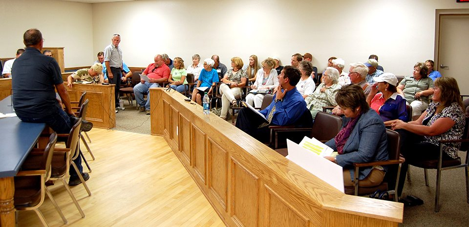 Public hearing held on Western Elite permit request