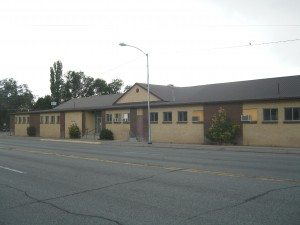 The former Panaca Elementary School building will soon be renovated for a new town center.