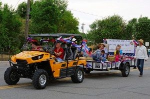 """""""Windows of the Past"""" was the theme for the Panaca Pioneer Day celebration this year, July 20. Grand Marshal was John Wadsworth."""