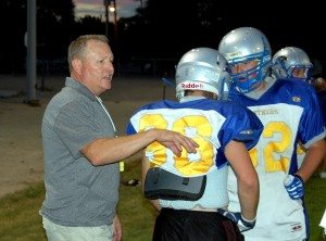 With the last five Division IV state football championships under their belt, the start of the 2013 season is just three weeks away for Pahranagat Valley High School