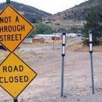 Questions continue to be asked by some of the citizens of Pioche about the stop signs at what was a five-way intersection with Airport Road and Frenchie Road.
