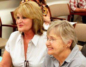 Susan Haas, new director of the Nevada Retired Senior Volunteer Program in Carson City, gave a presentation regarding the work