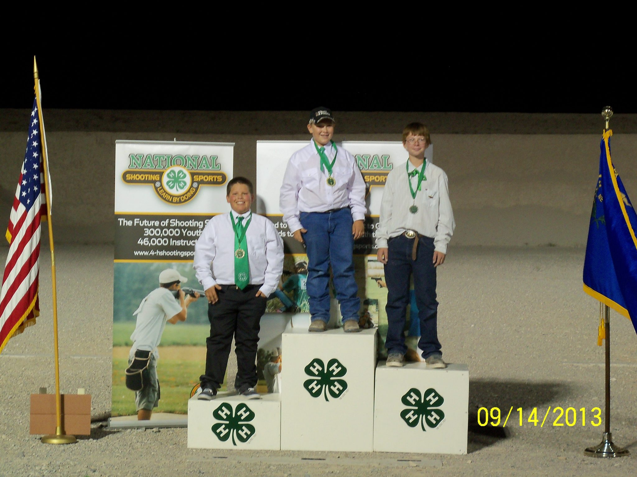 4-H state shooting match results