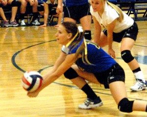 Pahranagat Valley girls volleyball opened the season with the visiting Wells Leopards Aug. 29, and took the match 3-0. Scores were 25-9, 25-9, 25-16.