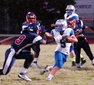 It is often said teams win games with defense. Pahranagat Valley's defense rose to the challenge in their non-league game