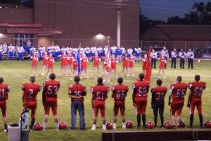 The 1-4 Lincoln County High School football team hosted the 2-3 Laughlin Cougars for Homecoming at Mike Anderson Field in Panaca on Sept