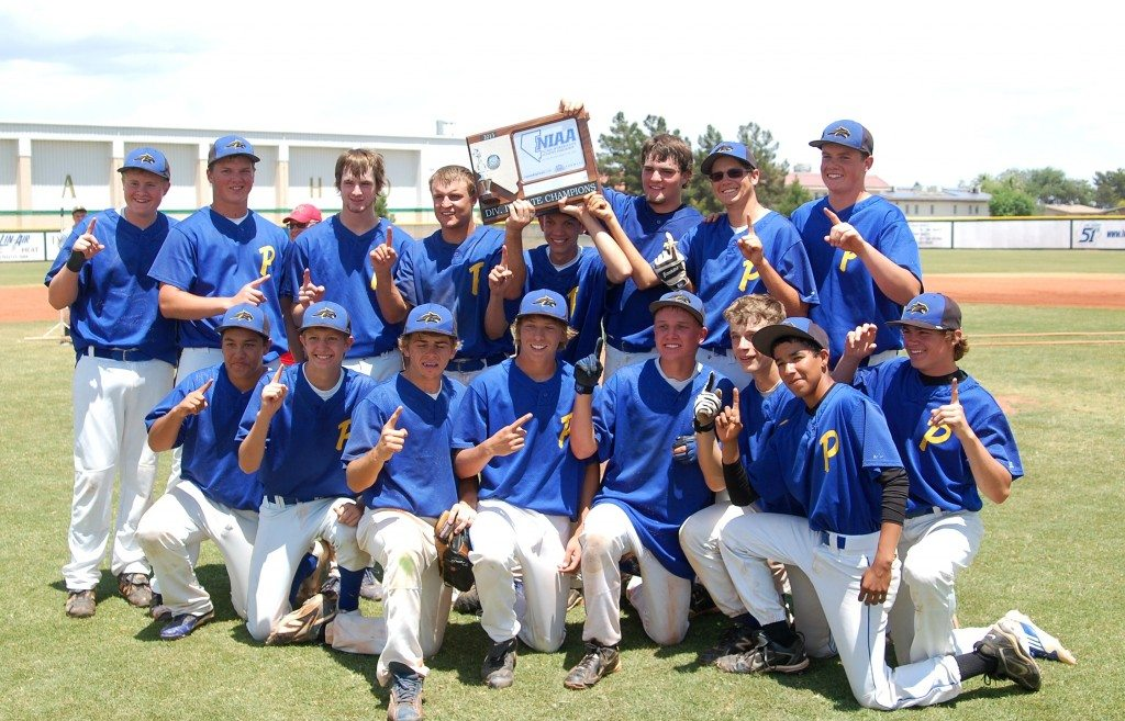 Pahranagat Valley boys 2013 Division IV state baseball champions. It was the fourth straight title for the Panther boys. (Dave Maxwell Photo)