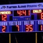 Something new greeted the fans at the football field at Pahranagat Valley High for the last game?a new scoreboard.