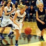 The Panther girls began the preseason Dec. 3 at The Meadows in Las Vegas, and beat the Mustangs 48-28. Bailey Hosier led the team with 14 points