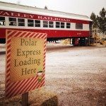 For the first time to the public, the Western Elite landfill site, south of Alamo on U.S. 93 opened their annual Polar Express winter attraction.