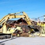 Workman demolished the Alamo Truck Stop buildings Jan. 8. Phyllis Frias, owner of Windmill Ridge and Cowboys Dream Bed and Breakfast, has said