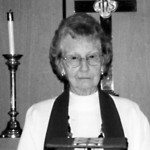 Retired Pioche Episcopal Church priest Rev. Jeanette E. Orr, age 97, passed away on Christmas Day,