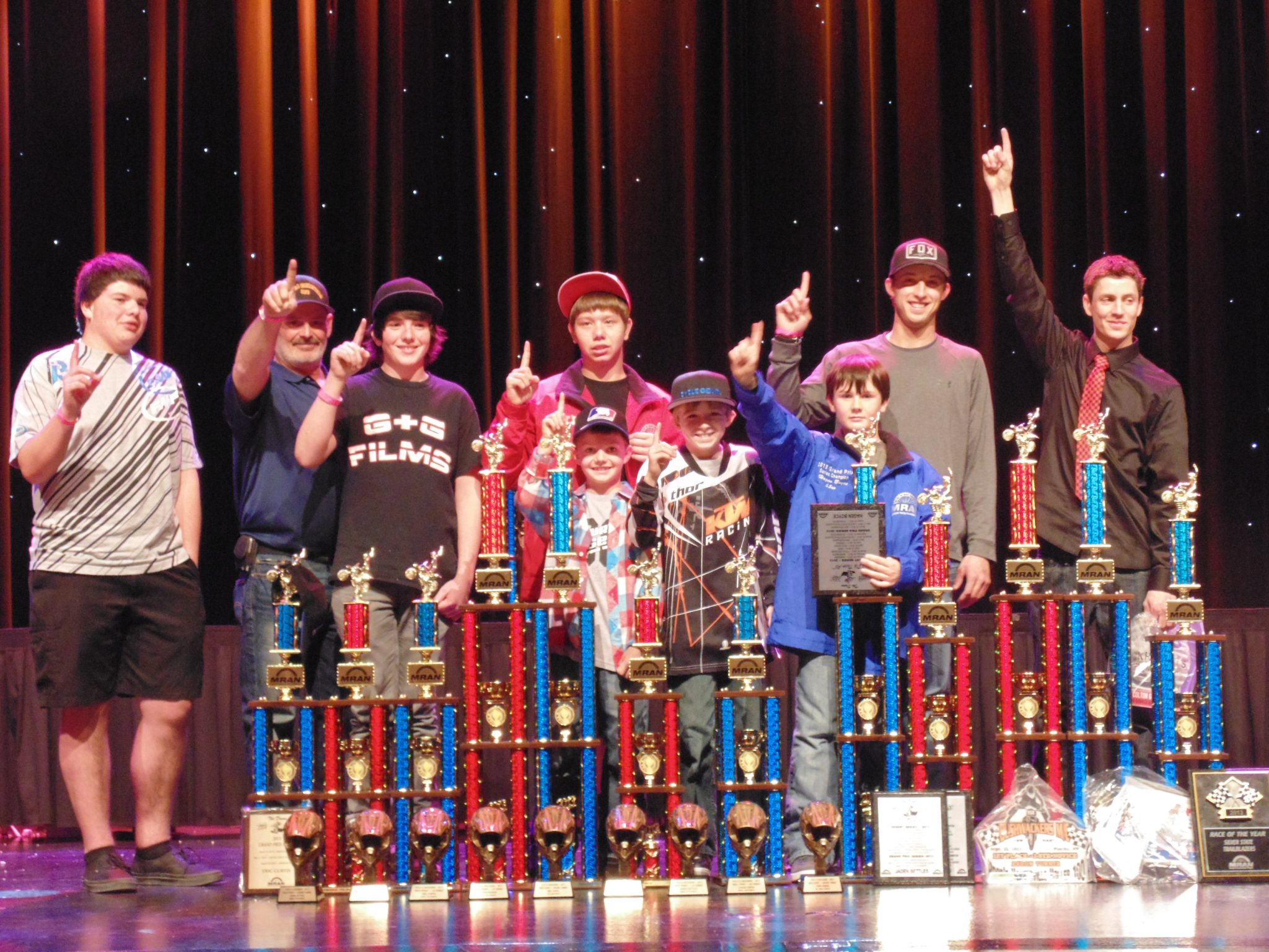 Local racers win big at MRAN banquet
