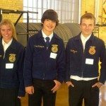 The Lincoln County High School FFA chapter went to Ely, Nev. Oct. 9, 2013, and competed in the state range land competition and qualified