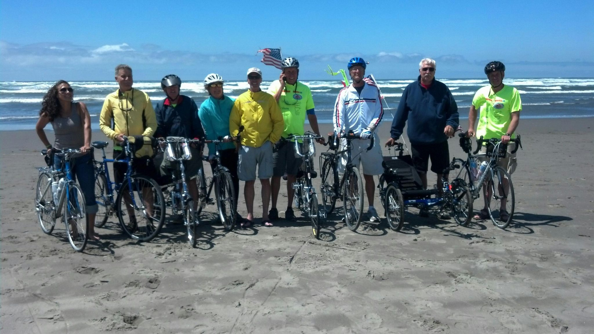 Mount Wilson man bikes across country