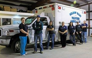 They do one of the most difficult jobs in Lincoln County. They are our local Emergency Medical Technicians (EMTs), and they are all volunteers.