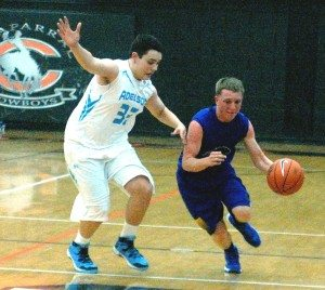 It just wasn't the year for Pahranagat Valley boy's basketball. Yet it must be noted even though the team had a tough year, they always showed plenty of heart