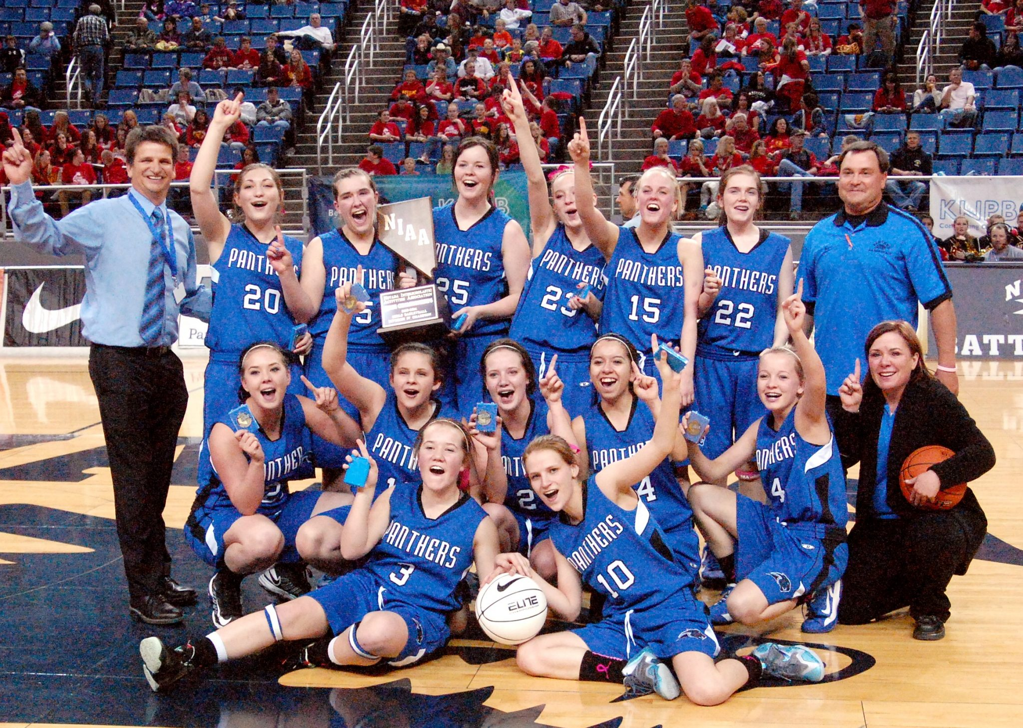 Lady Panthers capture state title