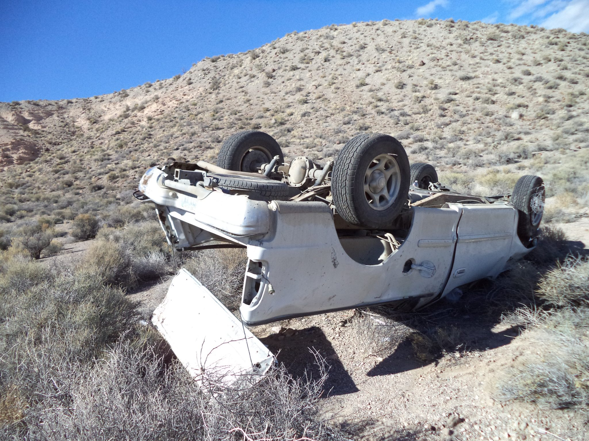 5 injured in multiple rollovers