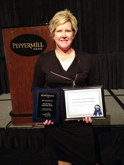 Lincoln County nurse receives excellence awards