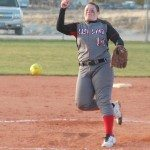 Lincoln County girls softball maintained their lead in the Division III Southern League on Tuesday as Aspen Wilkin tossed a five-inning one-hitter in the
