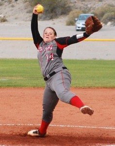 Both the Lincoln County and Pahranagat Valley boys baseball and girls softball teams are in the double-elimination Southern Division league playoffs this