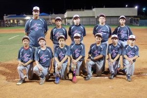 The Lincoln County team participates in the 11-12 year old boys Nevada District III tournament in Ely July 1-7.