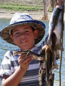 It happens every year: the annual fish derby that Spring Valley State Park hosts for Nevada's Free Fishing Day, which has been sponsored by