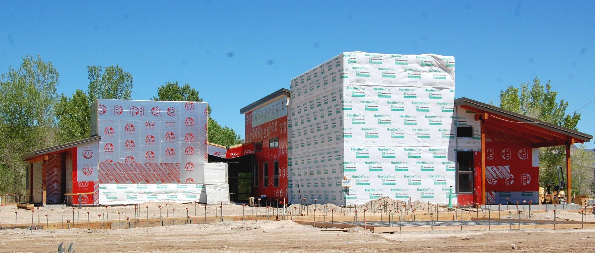 Construction on National Wildlife Refuge Center moving along