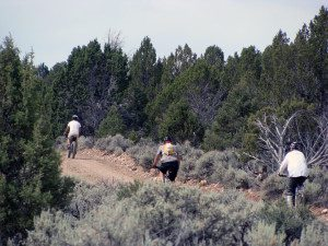 Mountain bikers, mostly from Henderson, Las Vegas, and St. George came for the second annual Gravel Grinder Mountain Bike trail ride June 21 at Beaver Dam State Park.