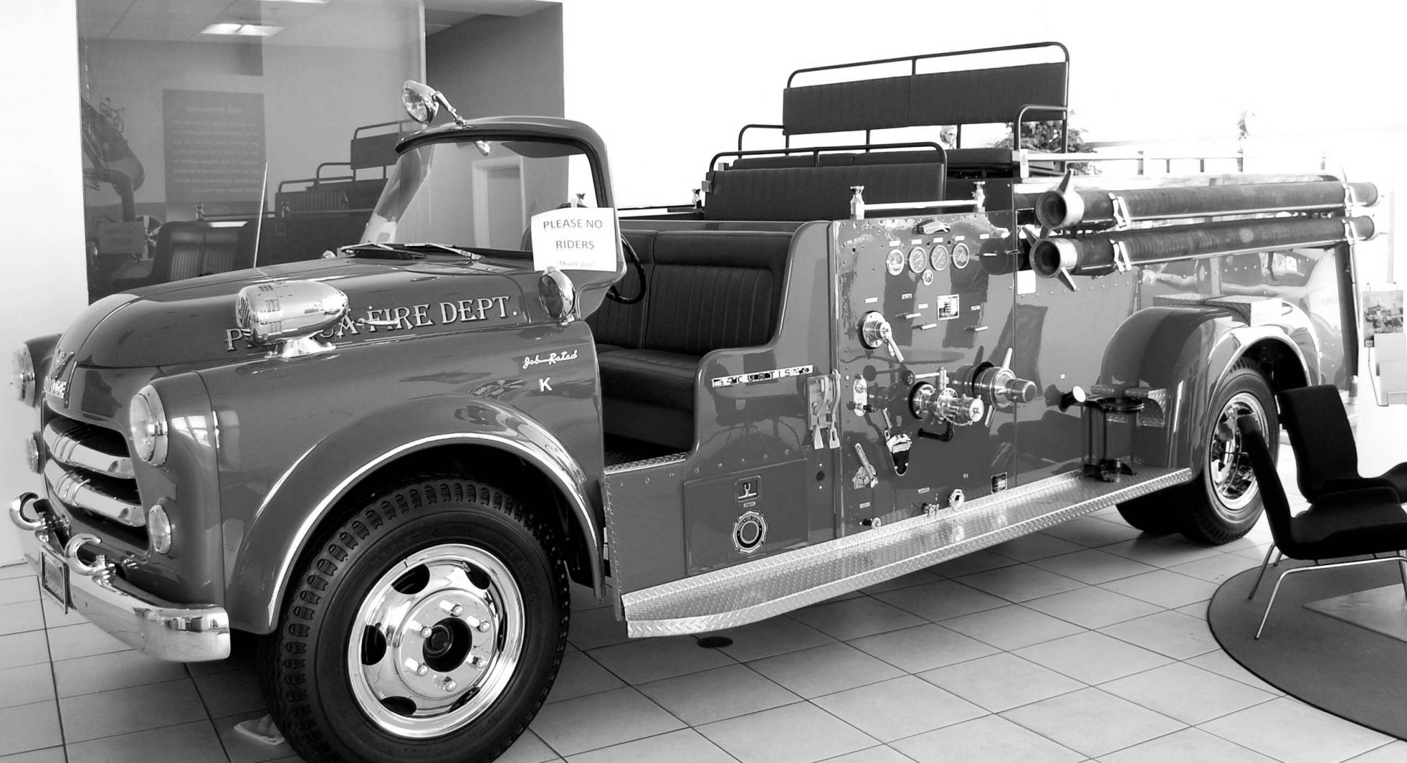 Restored historic Findlay fire truck finds new home