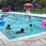 With the end of school celebrations and lifeguards hired, the public pools of the county are open for swimming business.